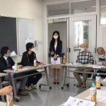 「欲張りな学校」野田学校長より、多摩高の状況説明